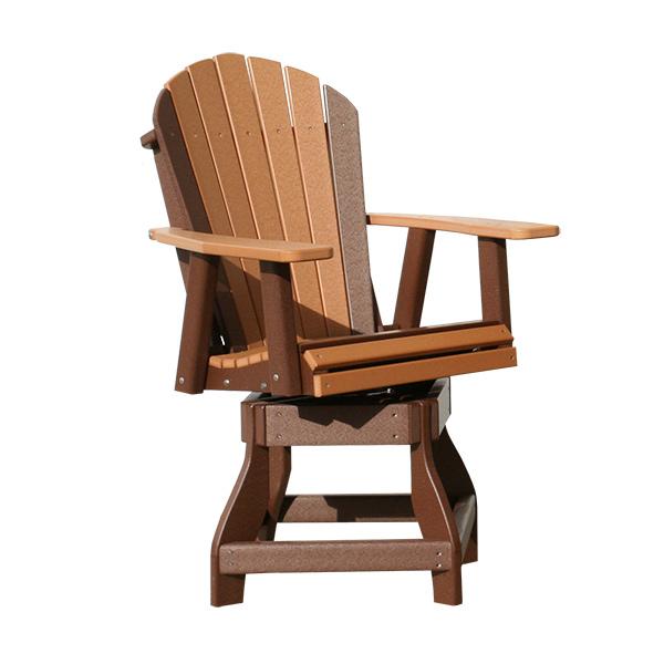 adirondack swivel chair