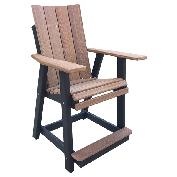 contemporary dining chair counter height