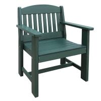 2ft garden bench in green